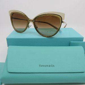 Tiffany & Co. TF 3076 8325/3B Gold/Clear Brown